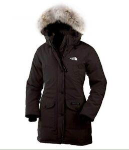 Down filled north face coat