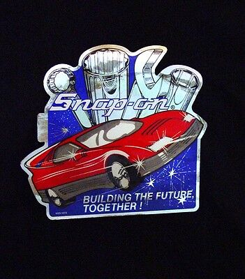 """Vintage Snap-on Tools Decals """"Building the Future Together!"""""""