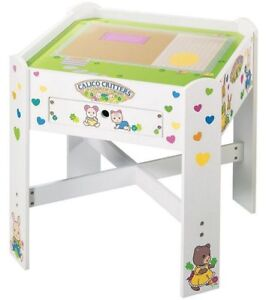 Calico Critters table, cottage, figures etc