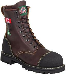 Men's Canada West 8  CSA Safety Boots Size 11