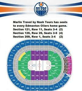 Edmonton Oilers Home Games