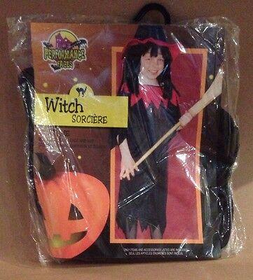 New Witch Sorciere Halloween Costume Large 12 - 14 Child Women - Kostüm Sorciere Halloween