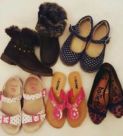 Girls shoes sizes 12 & 13