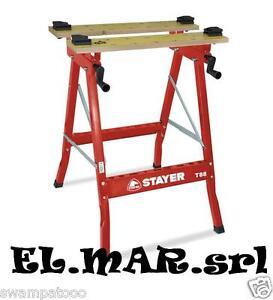 Stayer tavolo da lavoro per troncatrice t88 banco regolabile pieghevole base ebay - Tavolo da lavoro pieghevole ...