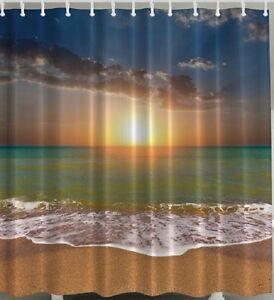 Sunset Shower Curtain Ebay