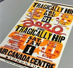 > Tragically Hip Posters Wanted-1990's & 2015  TOP $$$$ Kingston Kingston Area image 1