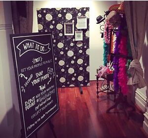 Floral photo booth or backdrop for hire Woodvale Joondalup Area Preview