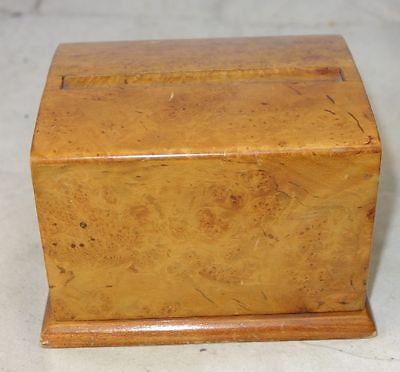 alter Zigarettenspender Zigarettenetui Holz sehr schön