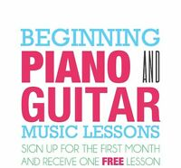 Piano and guitar lessons