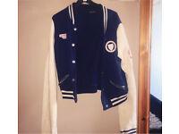 Baseball jacket size 8