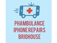 Phambulance iPhone repairs Brighouse