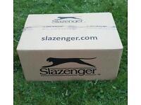 6 Dozen New Slazenger Wimbledon Tennis Balls (24 3 Ball Cans)