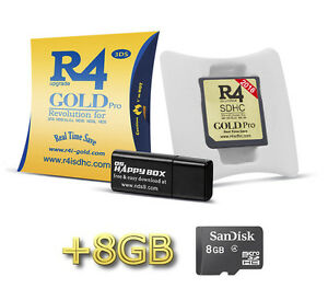 R4 Gold Pro Game Card for DS Lite DSi 2DS 3DS XL & 400+ Games