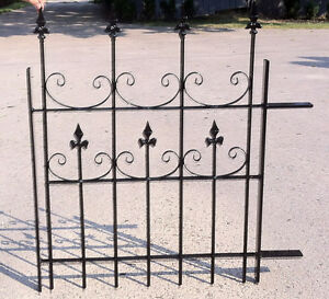 "Victorian Solid Iron Fence avail 64""W x 40 "" Kawartha Lakes Peterborough Area image 3"