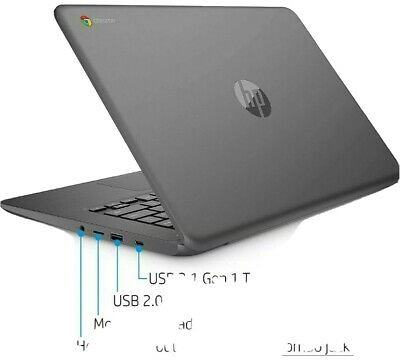HP Chromebook 14-db0003na 14 inch (32GB, AMD A4 Dual-Core, 2.2GHz, 4GB)
