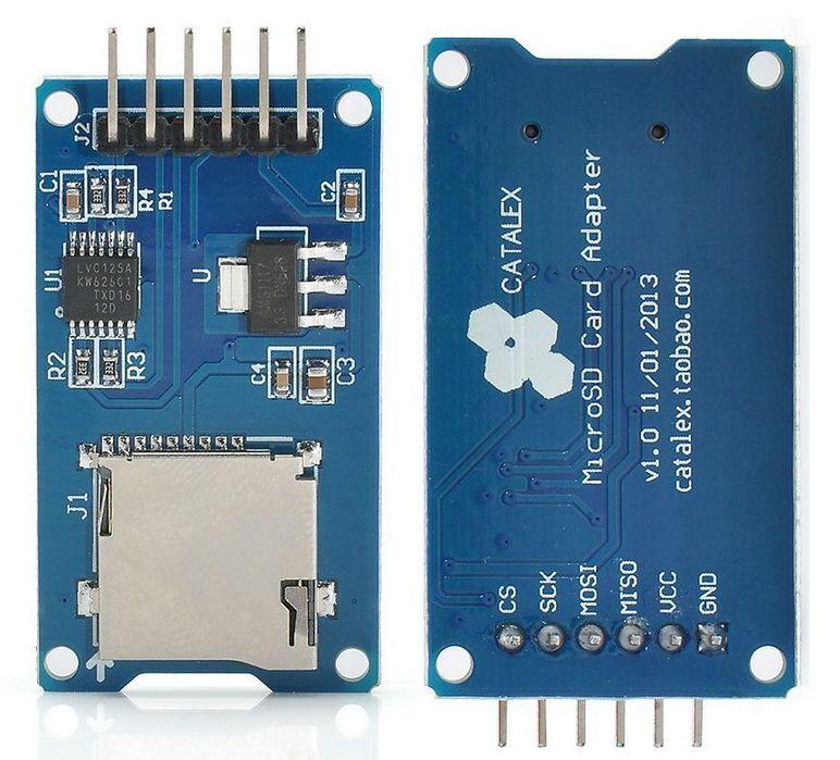 For Arduino Micro SD Storage Board Mini TF Card Memory Reader Shield Module SPI