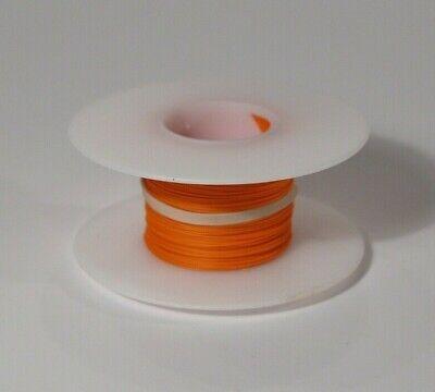 26 Awg Kynar Wire Wrap Ul1422 Solid Wiremod Type 100 Foot Spools Orange New