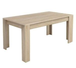My Style Collection  Sanibel Traditional 4-Seating Rectangular Casual Dining Table - Brushed Oak (Assembled)