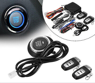 9Pack Start Push Button Remote Starter Keyless Entry Car SUV Alarm System Engine