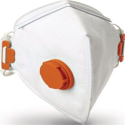 JSP Atemschutzmaske Y P3V FFP3 / V NR mit Ausatemventil, faltbar