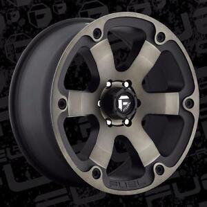 """BRAND NEW Fuel """"Beast"""" Rims!! 6x135 6x139.7 6x5.5 20"""" Wheels, Chevy GMC 1500 Yukon Tahoe Escalde"""
