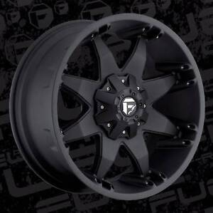 20X9 6X139.7 ET+20 FUEL OCTANE WHEELS FIT HILUX RANGER +  4WD Fairlight Manly Area Preview