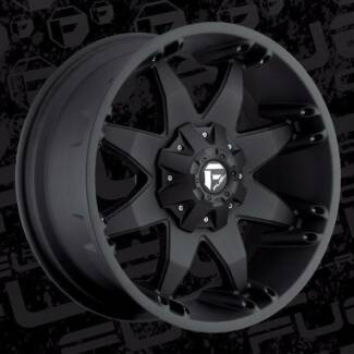 20X9 6X139.7 ET+20 FUEL OCTANE WHEELS FIT HILUX RANGER +  4WD