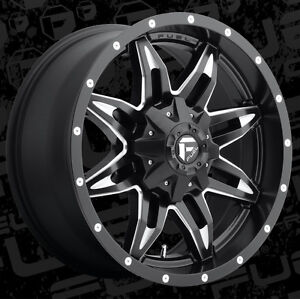 Roues 20'' Fuel Off Road Wheels Dodge Ram Toyota Tundra Roue Mag