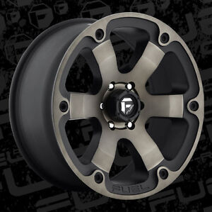 "Roues 20"" Wheels Fuel Off Road Dodge Ram Mag Wheel Rim"