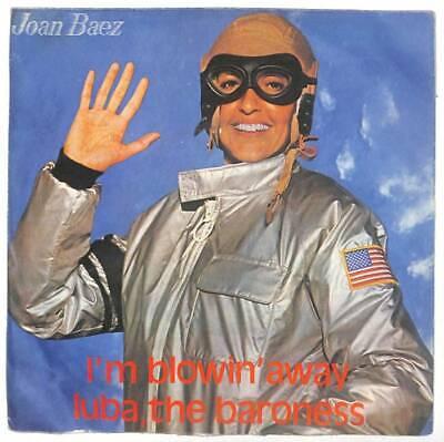 "Joan Baez - I'm Blowin' Away  - 7"" Vinyl Record"