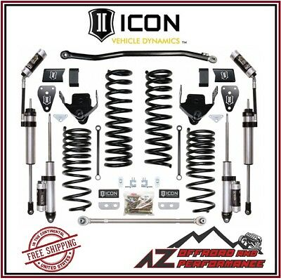 """ICON 2014- 2018 RAM 2500 4WD 4.5"""" Suspension System Stage 3 Performance Kit"""