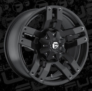 "Roues 20"" Wheels Fuel Dodge Ram Toyota Tundra Roue Mag Wheel"