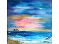 Painting classes in North Berwick