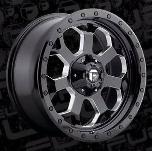 20X9 6X139.7 ET+20 FUEL SAVAGE FIT HILUX RANGER BT50 COLORADO +++ Fairlight Manly Area Preview