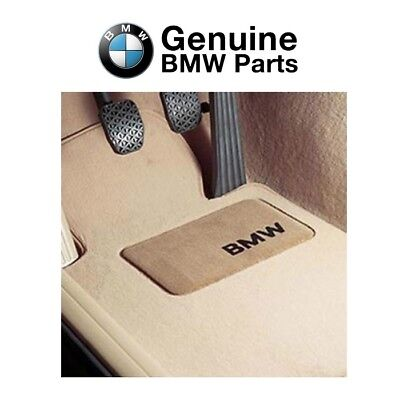 For BMW E70 X5 E71 X6 Set of 4 Front & Rear Beige Tan Carpeted Floor Mats OES