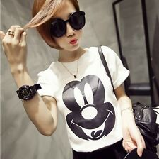 Women Casual Top Summer High Fashion Cartoon Short sleeves Bottoming Top