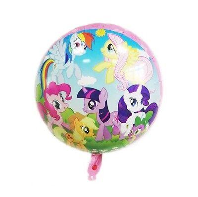 1x MY LITTLE PONY BALLOON FOIL HELIUM BIRTHDAY PARTY LOLLY LOOT BAG - My Little Pony Helium Balloon
