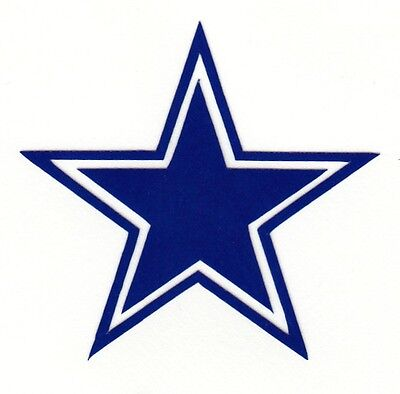 Dallas Cowboys Hard Hat (REFLECTIVE Dallas Cowboys fire helmet motorcycle hard hat decal sticker RTIC )
