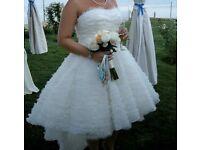 Ian Stuart Swan Lake wedding dress, size 12