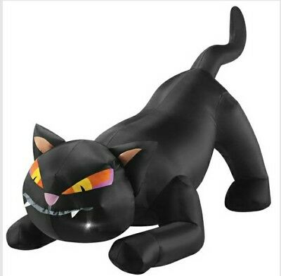 Halloween Decoration Inflatable Cat Home & Decoration Patio & Outdoor 48 in (Inflatable Cat Halloween Decorations)