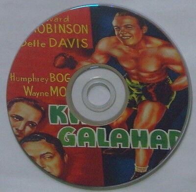 FILM NOIR 118: KID GALAHAD (1937) Michael Curtiz,  E G. Robinson, Davis, Bogart