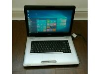 Toshiba satellite pro, webcam, Microsoft office, Windows 10