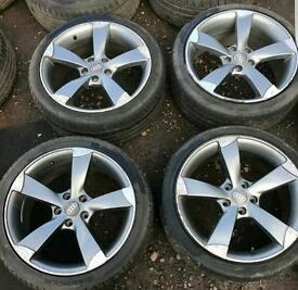 Audi a3 rotor style alloy wheels s3 rs3 black edition