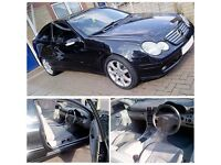 Mercedes Coupe 2003 1.8 Litres for Sale £1,600