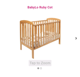 Babylo ruby cot