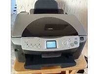 Epson Stylus Photo RX620 printer/scanner/copier with spare cartridges