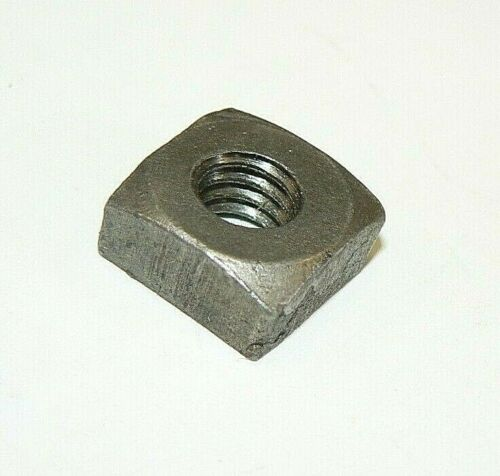 "5/16""-18 Square Nuts (Semi-Finished)-Coarse Thread- Plain Finish- Lot of 50 Pcs."