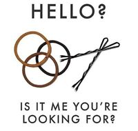 LOOKING TO ASSIST A BUSY HAIRSTYLIST- FULL TIME