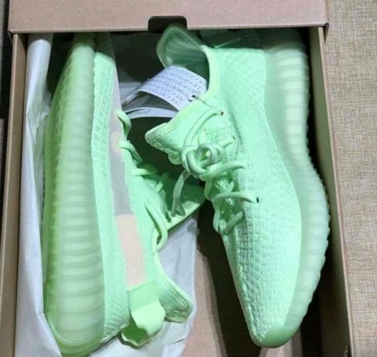 the best attitude 5291a dd342 Adidas Yeezy Boost 350 V2 GID Flourescent Green 350v2 Lumunious Green | in  Kilburn, London | Gumtree