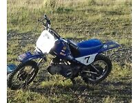 py90 replica with 125cc lifan engine + 110 semi auto pitbike py type